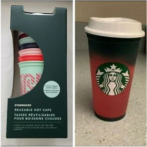 2 boxes of Candy cane Cups & Color Changing Cups